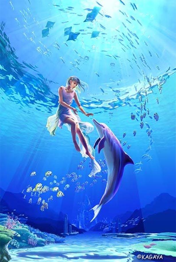 Delfin-i-rusalka